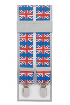 Union Jack Flag Braces For Trousers